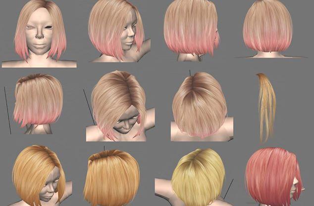 WIP - Hair