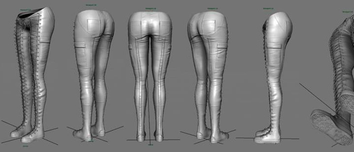 WIP - Leather Pants