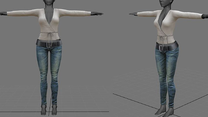 WIP - Jeans w/ Top