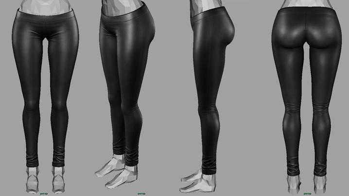 WIP - Leather Leggings