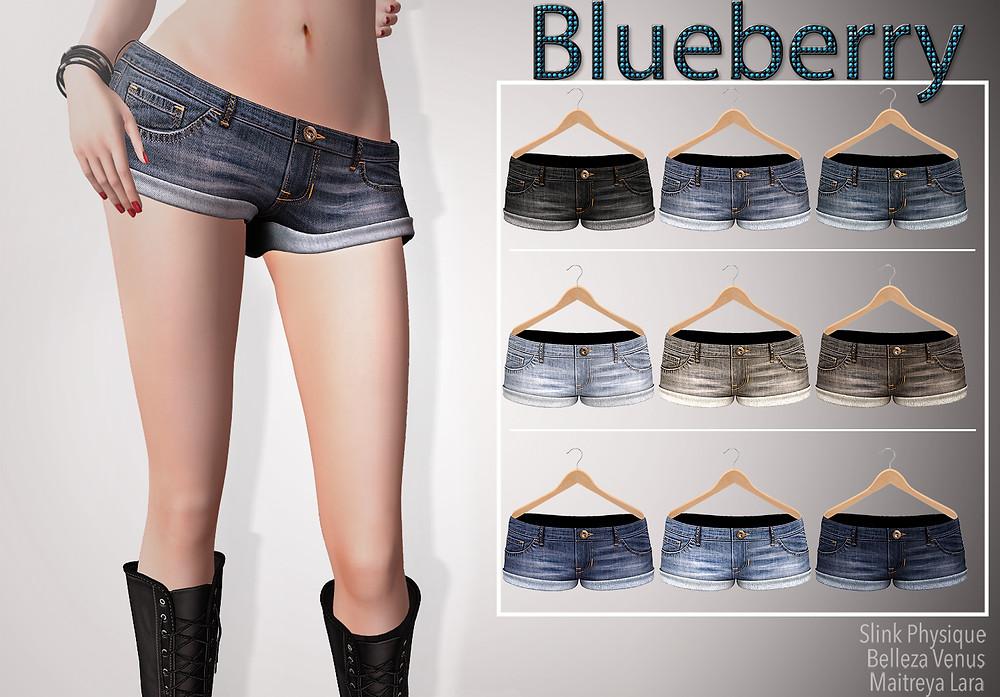 Blueberry Cuffed Denim Shorts.jpg