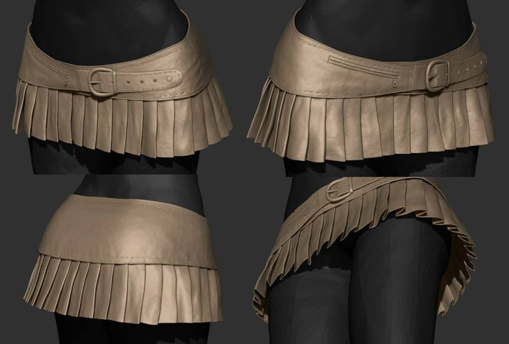WIP - Leather Skirts