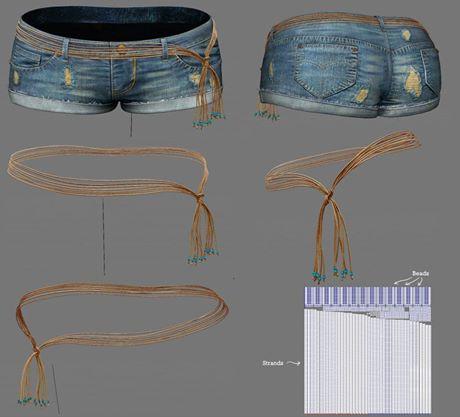 WIP - Denim Shorts 2