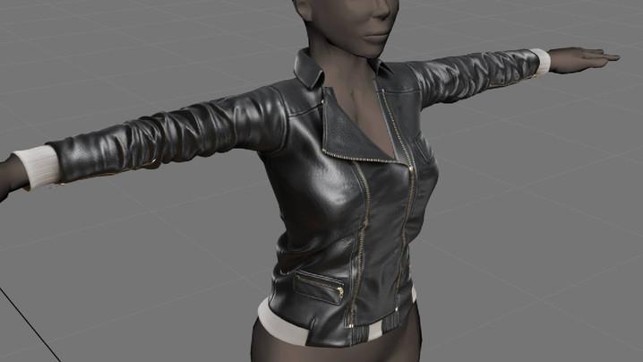 WIP - Leather Jacket