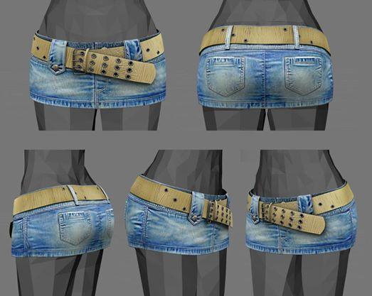 WIP - Denim Skirt