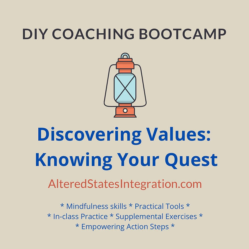 Discovering Values: Know Your Quest - DIY Coaching Bootcamp (1)