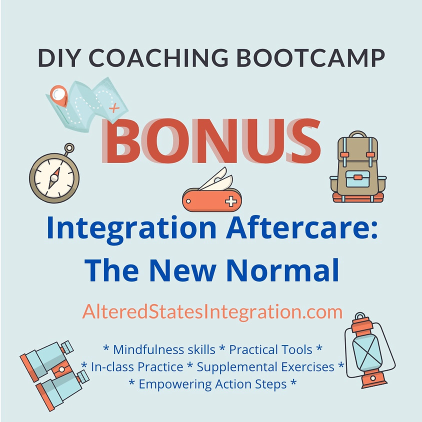 BONUS - Integration Aftercare: The New Normal - DIY Coaching Bootcamp