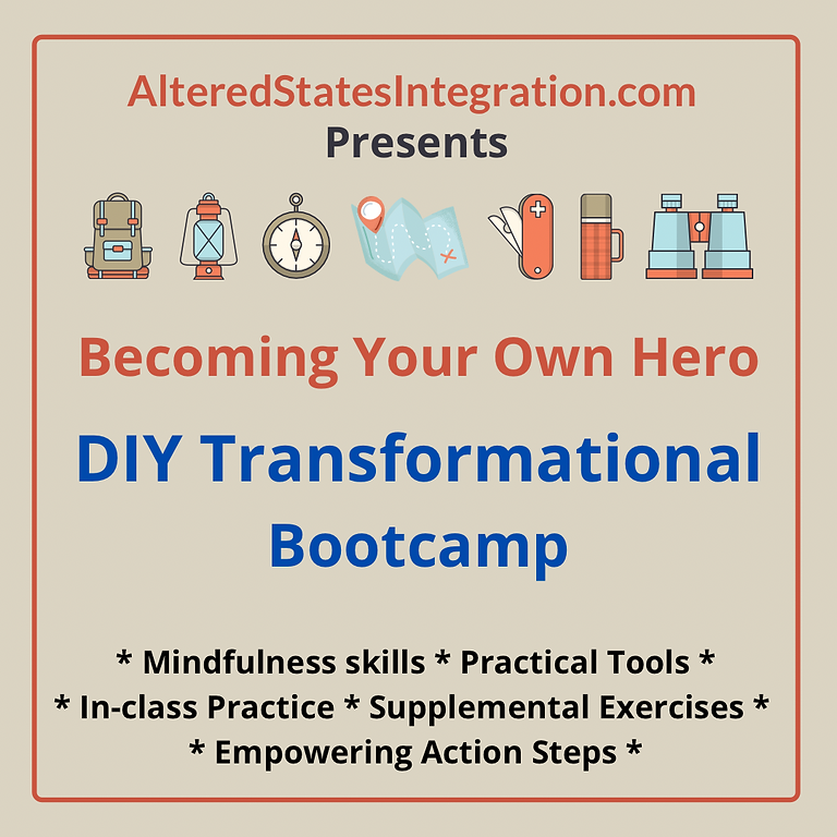DIY Transformational Bootcamp: Becoming Your Own Hero!