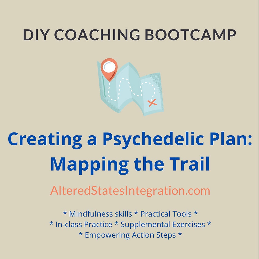 Creating a Psychedelic Plan: Mapping the Trail - DIY Coaching Bootcamp