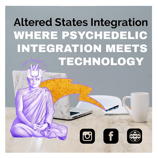 Altered States Integration sticker - 5 count