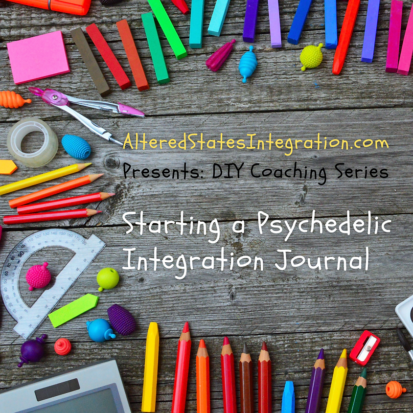 Starting an Integration Journal: Writing Your Story (1)