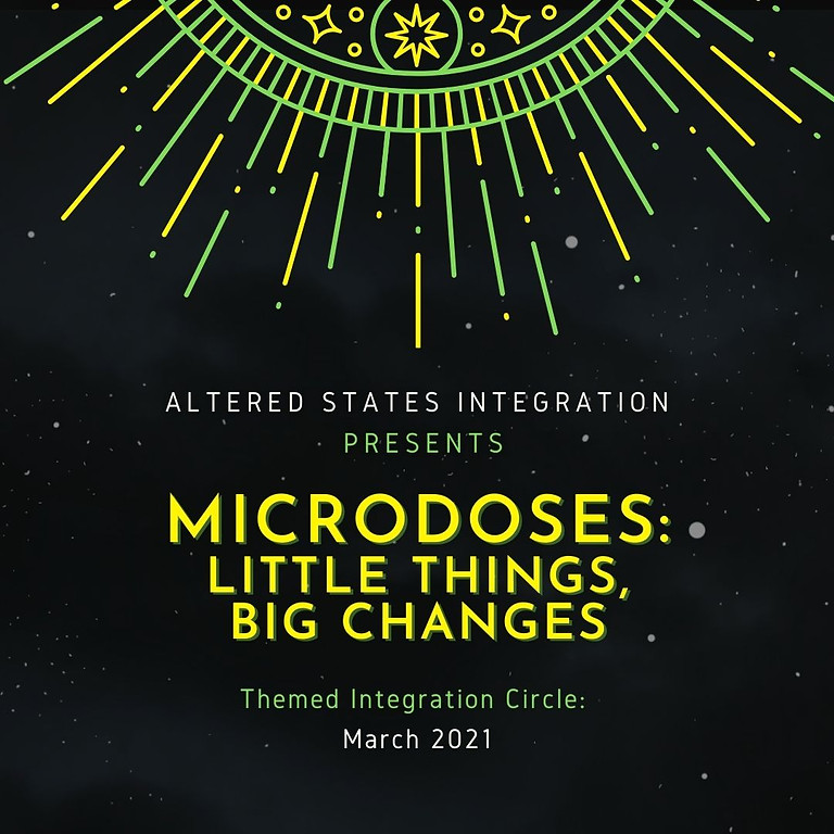 Microdosing: Little Things, Big Changes