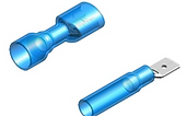 Fully insulated crimp connector