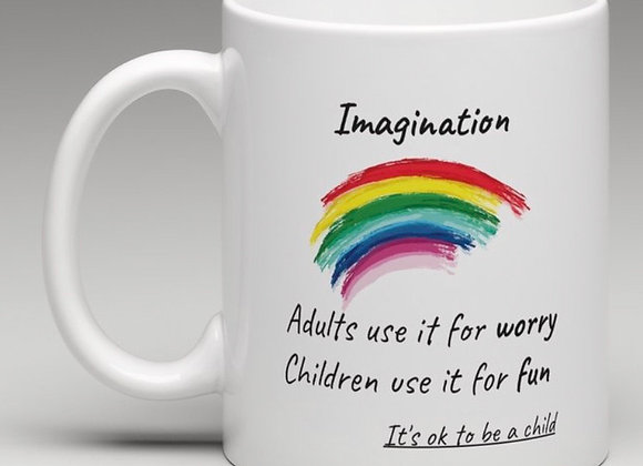 """""""Imagination"""" Mug"""