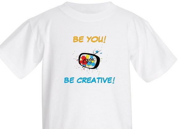"""Be Creative"" Kids T-Shirt"