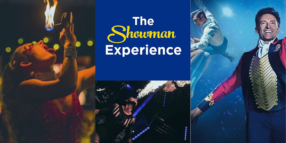 The Greatest Showman & Fire Performer's (Yeovil)