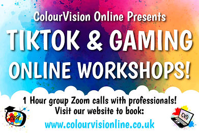 CVO Online TikTok & Gaming Advert Poster