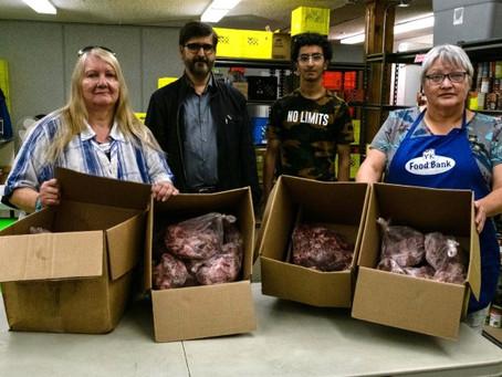 YK Islamic Centre donates meat to organizations across city