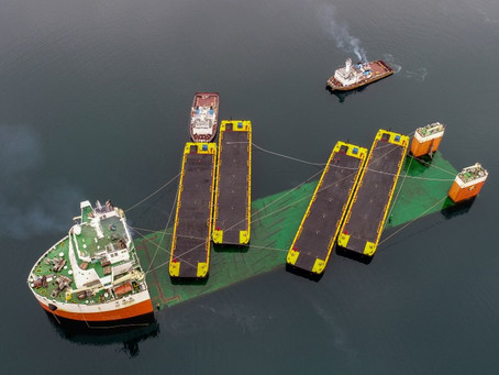 Four new China-built barges join NWT's fleet