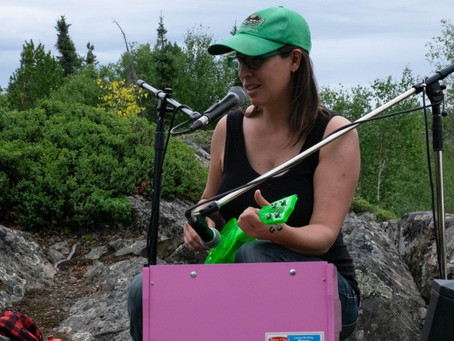 Watch: Buskers in the Bush on YK's Frame Lake Trail