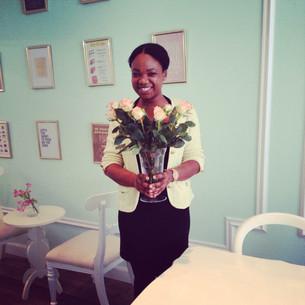 Bloemen voor Gaby