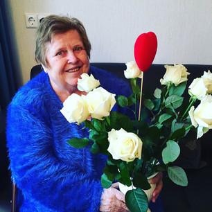Bloemen voor mevrouw Slit