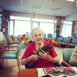 Bloemen voor Obladen & Mevrouw de Koning