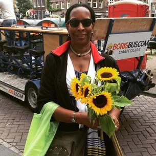 Bloemen voor Angela