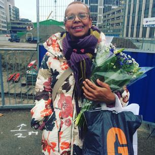 Bloemen voor Louise