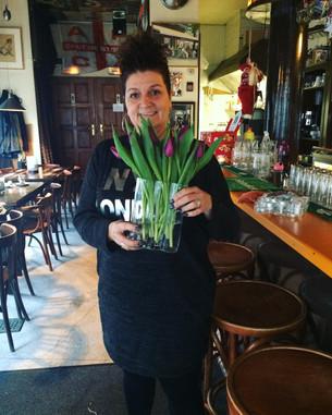 Bloemen voor Jolanda