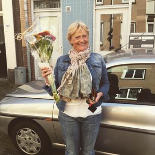 Bloemen voor Margret