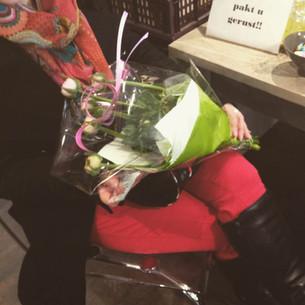 Bloemen voor Alexandra
