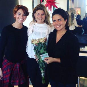 Bloemen voor Iris, Victoria en Linda