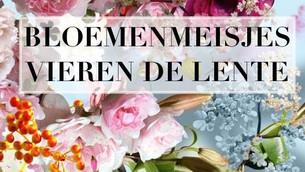 Bloemenmeisjes vieren de lente!