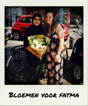 Bloemen voor Fatma