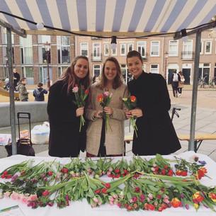 Bloemen voor BLEND festival
