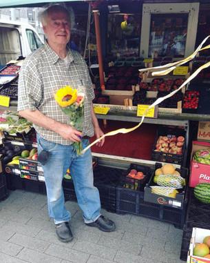 Bloemen voor Rob