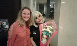 Bloemen voor Aya