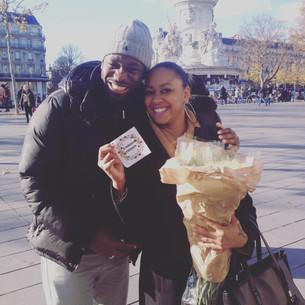 Bloemen voor Parijs