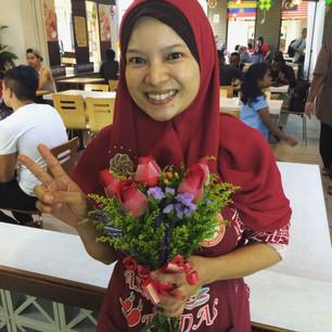 Bloemen voor Selina