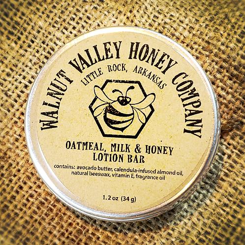 Oatmeal, Milk & Honey Lotion Bar