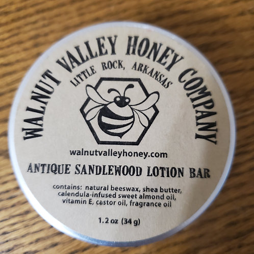 Antique Sandalwood Lotion Bar