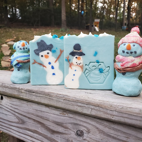 Sudsy the Snow Man Collection