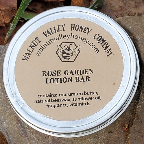 Rose Garden Lotion Bar