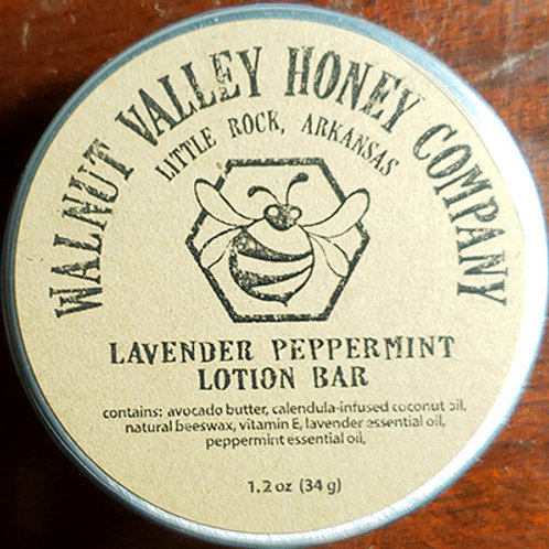 Lavender Peppermint Lotion Bar