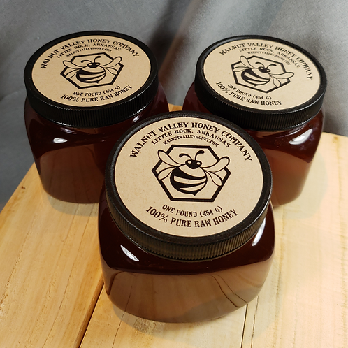 Raw Honey - 3 lbs.