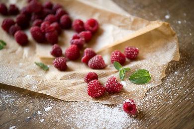 Foodphotgraphy Himbeeren