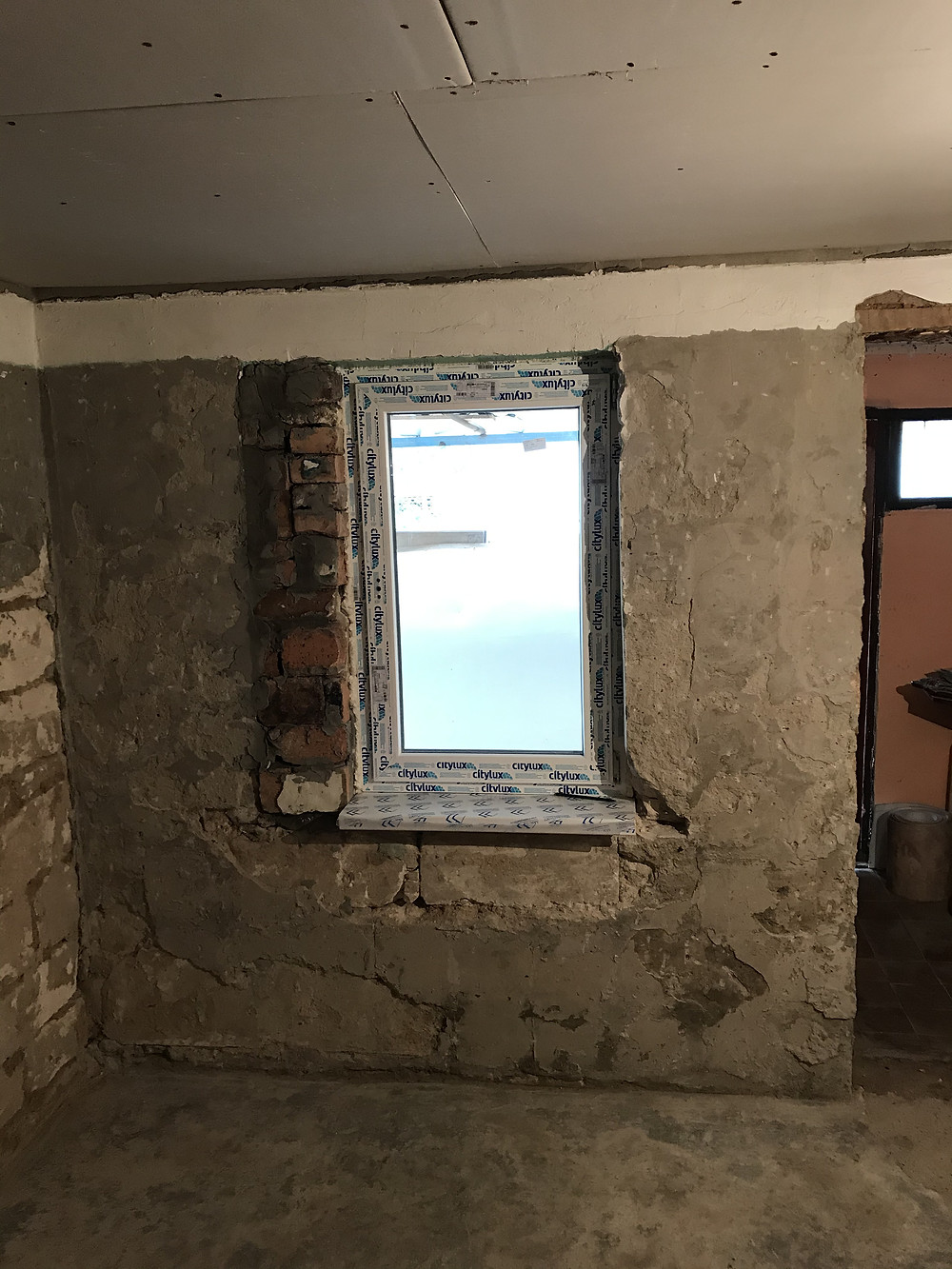 установка окна, ремонт