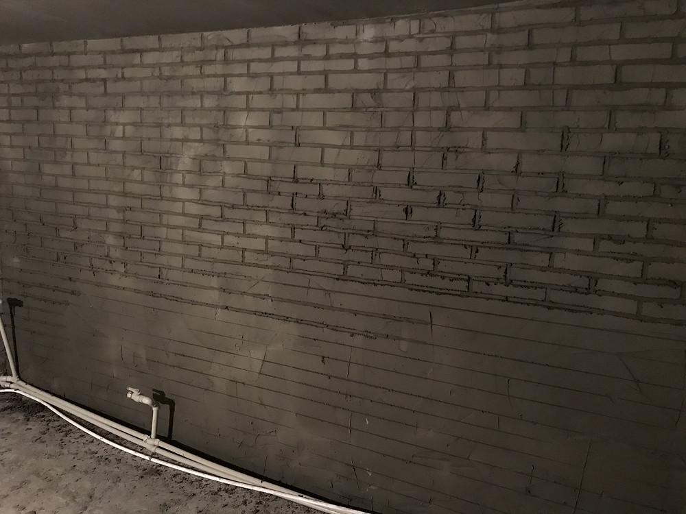 кирпичная стена имитация кирпича