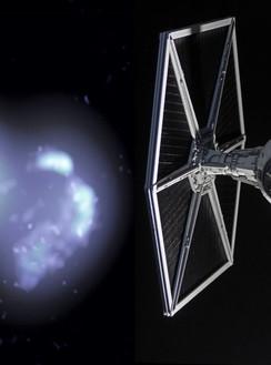 Империя собирает флот. Рентгеновские лучи засекли истребитель Дарта Вейдера
